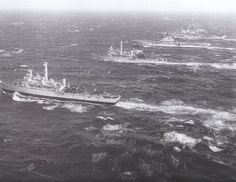 HMS Fearless, HMS Intrepid,  HMS Bulwark and HMS Ark Royal