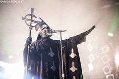 Papa Emeritus II / Ghost. Big Day Out @ Metricon Stadium, Gold Coast 19/01/2014 | Metal Obsession