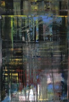 Gerhard Richter- Woods (5), 2005; oil on canvas