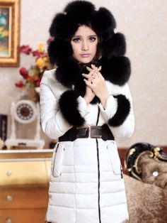 winter, DOWN, coat, FUR, TWO, WAYS, clearance, ghl0071, yrb, sale, style, yrbfashion, fashion, asian, korean, japanese,sales,