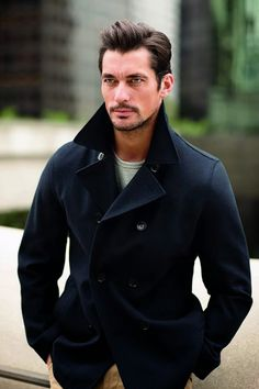 David Gandy is photographed by Arnaldo Anaya-Lucca for M&ampS Collection's spring 2014 in LA.