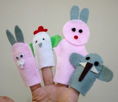 untuk anakanak sekolah minggu: Cara Membuat Boneka Tangan dng kain flanel
