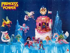 She-Ra Princess of Power Collection poster. Retro Toys, Vintage Toys, Childhood Toys, Childhood Memories, Right In The Childhood, She Ra Princess Of Power, Barbie Accessories, Ol Days, Cultura Pop