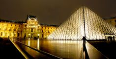 Pyramid Of The Louvre in Paris