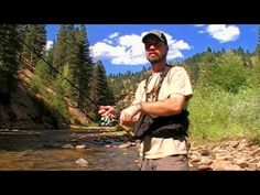 The basics of how to fish small to mid-size mountain streams and rivers. Mountain stream fishing can be among the most rewarding of angling experiences. Fishing Hole, Fishing Kit, Fly Fishing Tips, Going Fishing, Trout Fishing, Fishing Lures, Fishing Tackle, Fishing Basics, Fishing Videos
