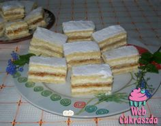 Hungarian Cake, Hungarian Recipes, Christmas Sweets, Edible Flowers, Holiday Dinner, Winter Food, Cake Recipes, French Toast, Deserts