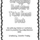 This is  Take Home Reading Skills Book to use with ANY book. The book contains a page for each reading strategy. These are the strategies that I te...