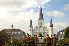 Saint Louis Cathedral, Jackson Square, New Orleans, Louisiana