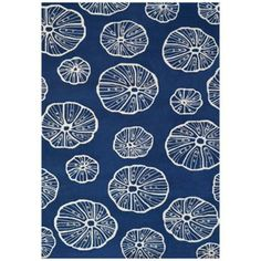 Resort 25528 Jellyfish Indoor Outdoor Rug from @Lamps Plus