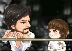 Srk and Little Srk