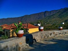 Blick von der Finca Acerina in das Aridanetal auf La Palma