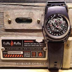 "C3H5N3O9 ""Nitro"", Urwerk & MB&F by Mr Watch Guide"