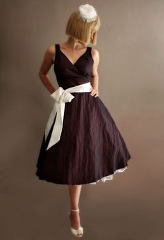 Love the sash!1950s+bridesmaids | Lily and Louie - Product Detail for vintage inspired wedding dresses ...