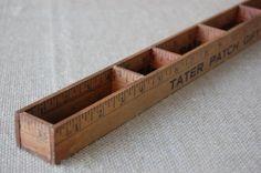 Vintage Ruler Yard Stick Tanker Desk Organizer by PickersWarehouse, $39.00