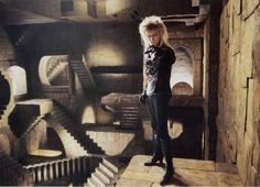 """Labyrinth (1986) David Bowie Jennifer Connelly Poster 11.7"""" x 16.5""""- 297mm x 420mm by Lovingmystuff, http://www.amazon.co.uk/dp/B002FY90NW/ref=cm_sw_r_pi_dp_eYlHsb17SQ7SR"""