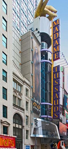 nyc museums | Madame Tussaud's Wax Museum at Times Square in New York City.