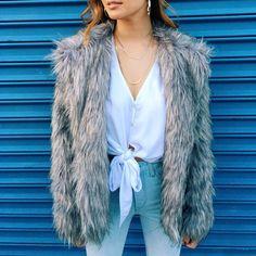 Park Ave Faux Fur Jacket | Show Me Your Mumu