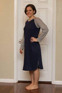 Callie's Nightgown & Nightshirt Pattern for Women Sizes XS-5X