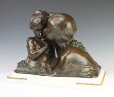 Lot 251 in Denhams September 2018 antique auction Sculptures, Lion Sculpture, Antique Auctions, Bronze Sculpture, September, Stamp, Fine Art, White Marble, Antiques
