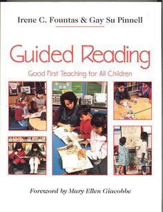 This is the Bible on Guided Reading. If you are  a new Reading teacher and have never read this book....go ask your school librarian or Administrator to obtain this book for you.