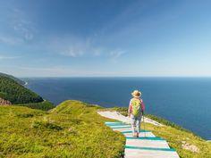 The boardwalk at North Bay Beach Cavendish Beach, Endangered Bird Species, Cabot Trail, Lake Huron, Cape Breton, Prince Edward Island, Beaches In The World, Windsurfing, Sandy Beaches