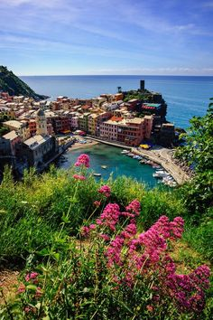 Take a closer look at the Italian Riveria of Vernazza, Italy.