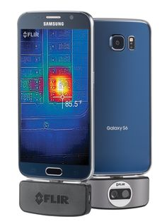 FLIR has announced its second generation thermal camera smartphone add-on will be coming to Android in July. The FLIR ONE plugs into the microUSB Gadgets And Gizmos, New Gadgets, Technology Gadgets, Cool Gadgets, Wireless Camera System, Wireless Home Security Systems, Thermal Imaging Camera, Smartphone, Tablet