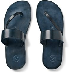 Álvaro - Alberto Leather Sandals | MR PORTER