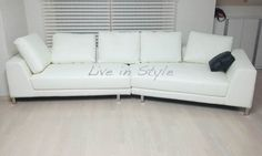 Leather Sofa - Max 6029