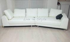 Leather Sofa - Max 6029