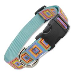 This summery dog collar is perfect for those that love a blast of color on their dog. Custom Dog Collars, Puppy Collars, Dog Harness, Dog Leash, Girl And Dog, Boy Or Girl, Dog Wedding, Rescue Dogs, Everyday Fashion