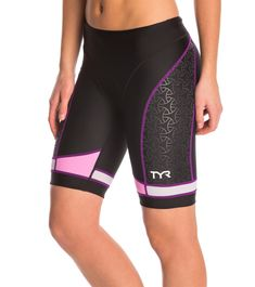 TYR Women's Competitor 8 in Tri Short at SwimOutlet.com - Free Shipping