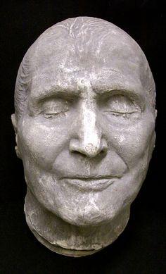 Pius IX, Pope, 1792-1878  death mask, from the matrix of the original.
