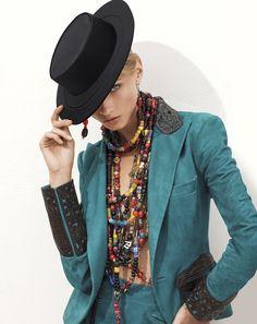 Ralph Lauren Collection 2013 - ethnic necklaces