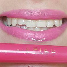 هذا #أحمر_الشفاه اللي استعملته اليوم  Showing my #lips of the day using Lippies Lipliner & Lipstick #12