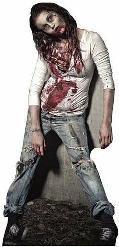 Zombie Girl Lifesize Standup Poster Hollywood Mega http://www.amazon.com/dp/B006WPBT34/ref=cm_sw_r_pi_dp_N0DLtb0Y0VR0D2JS