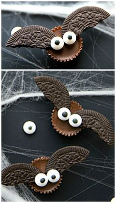 Mini Chocolate Bat Bites