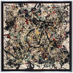 Square Pouring • 1948 • Jackson Pollock