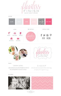 FlawlessFinish-LogoDesignBrandBoard-SaffronAvenue