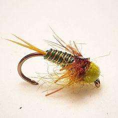 The  copper john will always get the job done...Fish On  #flytying #flyfishing #flytyingjunkie #trout #nymphs #river #panfish #carponthefly #carp #flyfishingjunkie #czechnymphing #polishnymphs #customflies
