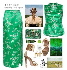 """""""The Silk Road"""" by sue-mes ❤ liked on Polyvore featuring Attico, Gianvito Rossi, Dolce&Gabbana, Anissa Kermiche, Bea Bongiasca, Youth To The People, Aesop, Terre Mère and Sephora Collection"""