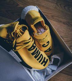 d6165671d35c2 Adidas x Pharrell Williams Human Race OG  Yellow Adidas Human Race