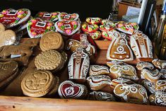 Traditional Hungarian Honey-cakes are made by adding cold honey to flour, creating a dough that can be carved into shapes