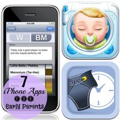 7 iPhone Apps for New Parents