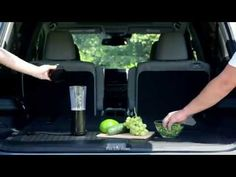 Pilot Goes Glamping: How to Make Green Juice on the Go. The all-new 2016 Pilot's available rear 12-Volt Power Outlet makes it easy to stay healthy while glamping outdoors.