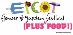 FULL LIST of food and beverage items at the 2013 Epcot Flower and Garden Festival!!