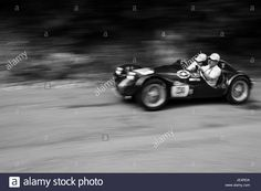 Download this stock image: GOLA DEL FURLO, ITALY - MAY 19, 2017: GIUR TARASCHI 750 SPORT 1951 on an old racing car in rally Mille Miglia 2017 the famous italian historical race - JE4RDA from Alamy's library of millions of high resolution stock photos, illustrations and vectors.