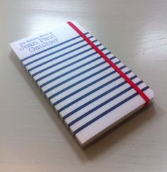 Notebook Jean Paul Gaultier, for Kunsthal Rotterdam