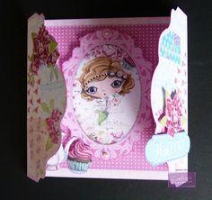 Karen Foy - Card using the Verity Rose CD