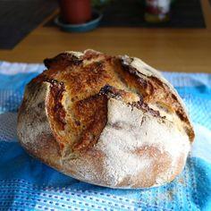 Homemade sourdough bread 33% whole grain - 66% white flour [2918x2918][OC]
